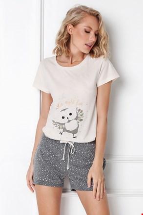 Ženska pidžama Owella kratka