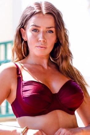 Gornji dio ženskog kupaćeg kostima Chloe Grape