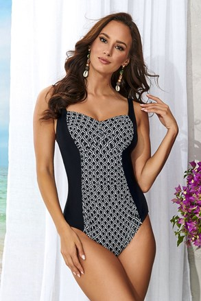 Ženski jednodijelni kupaći kostim Mia bez žica