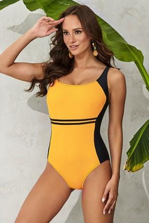 Ženski jednodijelni kupaći kostim Clara Yellow