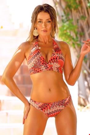 Ženski dvodijelni kupaći kostim Butterfly Orange II