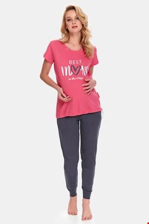 Pidžama za trudnice i dojilje Best Mom Rose