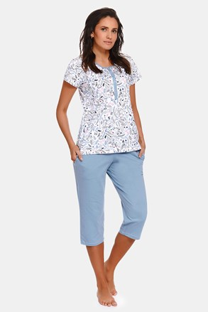 Pidžama za trudnice i dojilje Flower