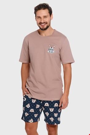 Plavo-bež pidžama Bear