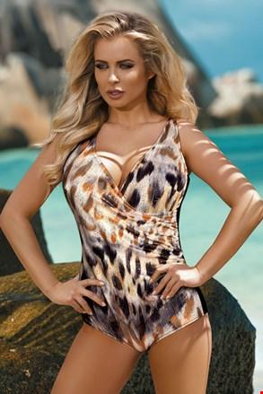 Ženski jednodijelni kupaći kostim Paula animal