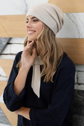 Ženska kapa od kašmira Pegaz