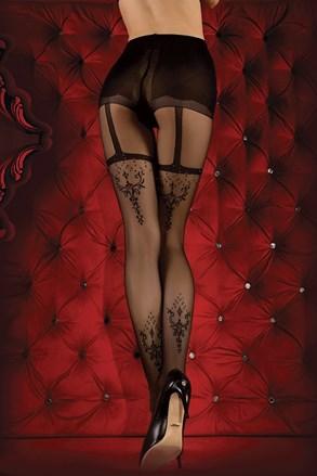 Luksuzne čarape s gaćicama Red Intense 347