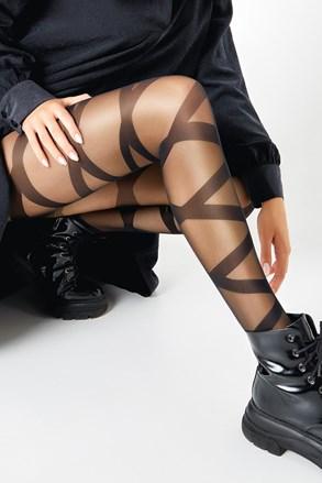 Ženske čarape s gaćicama Ribbon 20 DEN