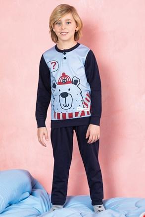 Pidžama za dječake Bear plava