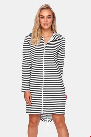 Ženski ogrtač Stripes