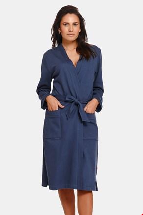 Ženski pamučni ogrtač Deep Blue