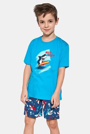 Pidžama za dječake Shark surf