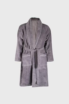 Sivi ogrtač Velvet soft touch