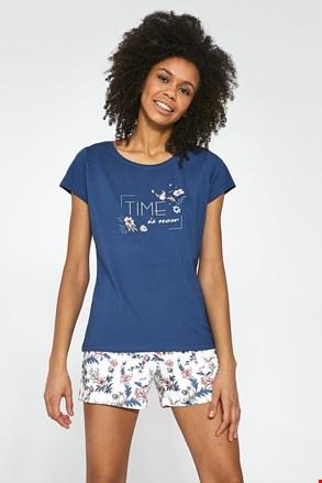 Trodijelni komplet pidžame za žene Time is now