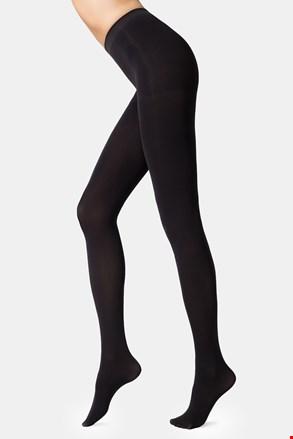 Stezne ženske čarape s gaćicama Velour 100 DEN