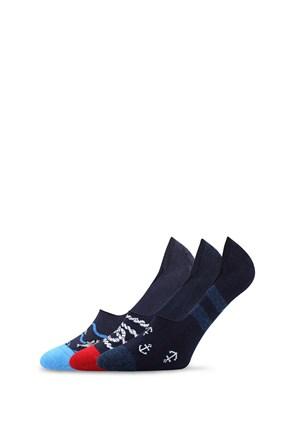 3 pack čarape za mokasine Vorty