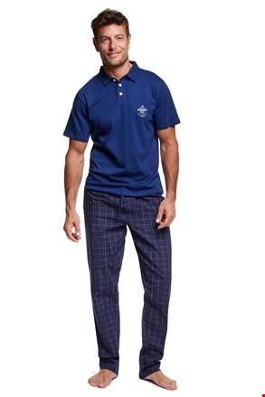 Muška pidžama s ovratnikom Vote