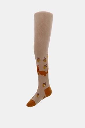 Dječje čarape s gaćicama Vjeverica