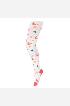 Čarape s gaćicama za djevojčice Srdce