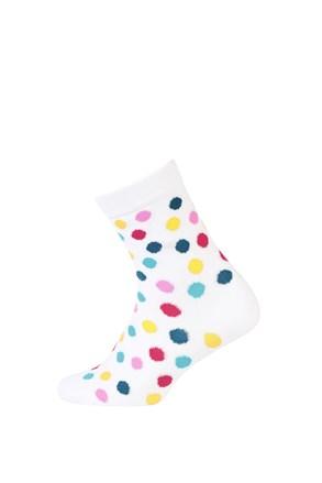 Dječje glatke čarape šarene točkice