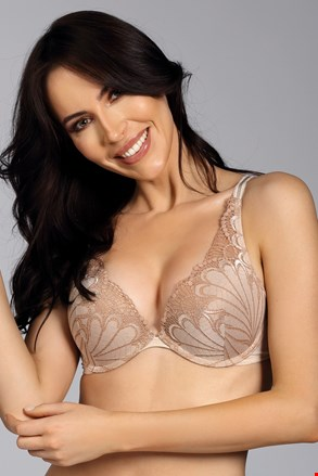 Grudnjak Wonderbra Triangel Double Push-Up Ivory