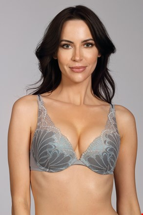 Grudnjak Wonderbra Triangel Double Push-Up Grey