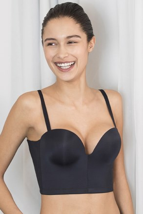 Grudnjak Wonderbra Ultimate Backless Push-Up black