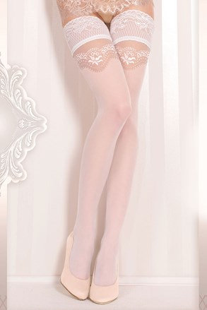 Luksuzne samostojeće čarape Wedding 372