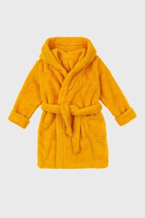 Ogrtač za djevojčice Simple žuti