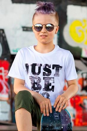 Majica kratkih rukava za dječake Be Cool