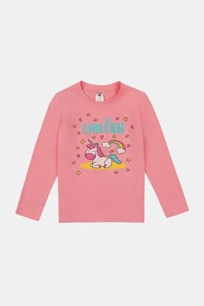 Majica za djevojčice Sleeping unicorn
