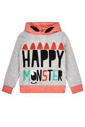Majica za djevojčice Happy Monster