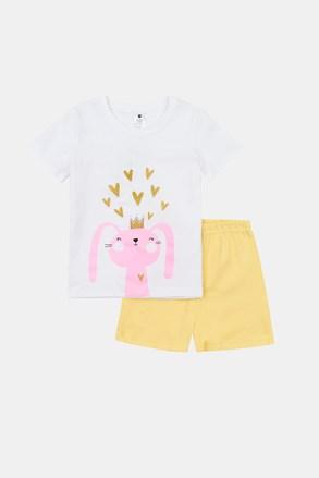 Svjetleća pidžama za djevojčice Rabbit