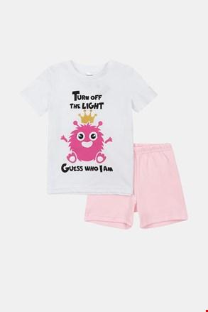 Svjetleća pidžama za djevojčice Monsters