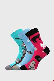 3 PACK čarapa za djevojčice Animals