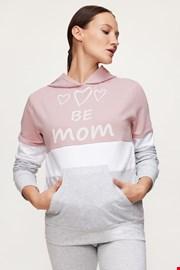 Majica s kapuljačom za trudnice i dojilje Be Mum