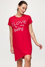 Spavaćica za trudnice i dojilje Love baby