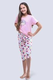 Pidžama za djevojčice Cats ružičasta