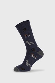 Plave čarape Fantasy