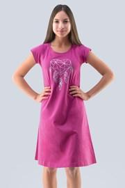 Spavaćica za djevojčice Hearts ružičasta