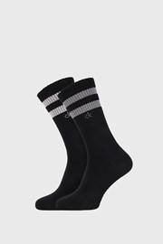 2 PACK crnih čarapa Calvin Klein Maurice
