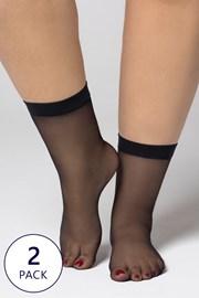 2 PACK čarapa Plus Size 20 DEN