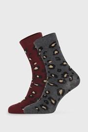 2 PACK ženskih čarapa Cheetah