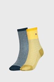 2 PACK ženskih čarapa Tommy Hilfiger Argyle