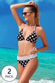 Ženski dvodijelni kupaći kostim South Beach 2pack