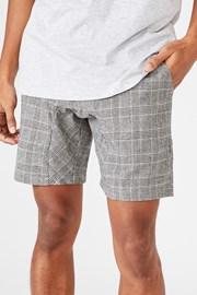Crno-bijele kratke hlače Lounge
