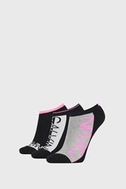 3 PACK ženskih čarapa Calvin Klein Nola crne