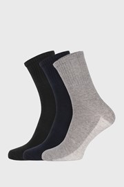 3 PACK višebojnih sportskih čarapa unisex