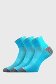 3 PACK sportskih čarapa Ray neonske tirkizne