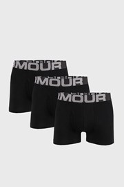 3 PACK crnih bokserica Under Armour Cotton